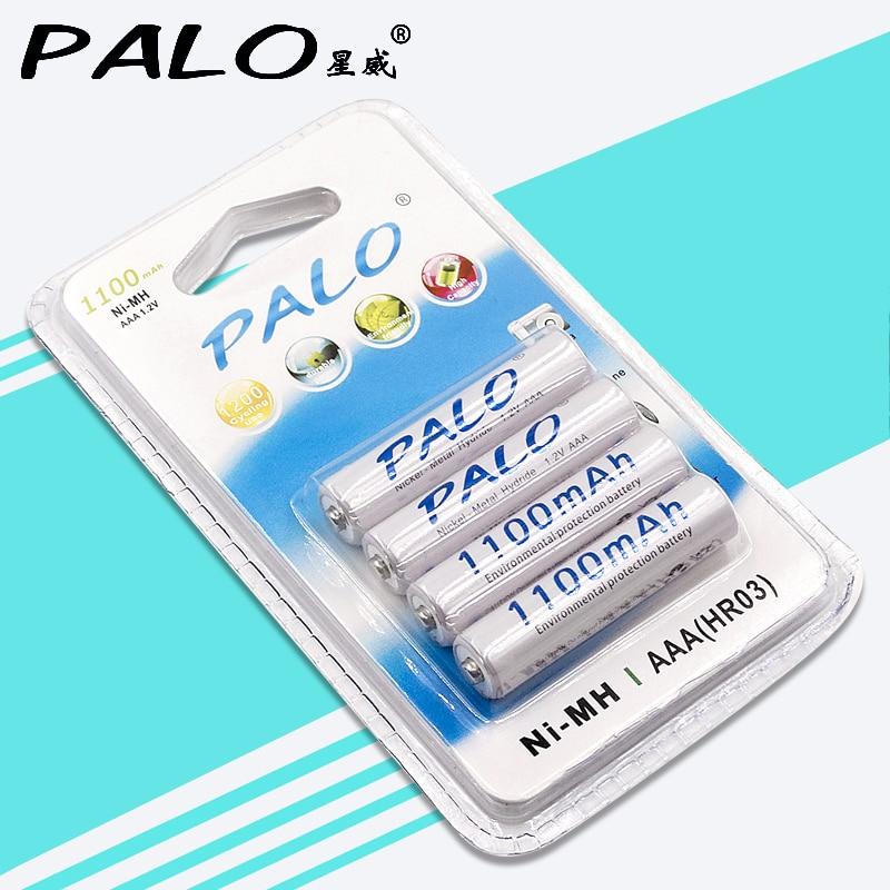 4 Stücke 1100 mAh 1,2 v AAA Akku Für LED-Licht Spielzeug Platzierung Batterie Und Kamera MP3 Mp4 Mikrofon