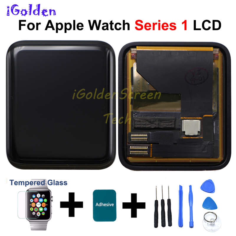 For Apple Watch Series 1 LCD Display Touch Screen Digitizer 38mm 42mm Pantalla Replacement For Apple