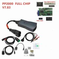 Best price Full Chips Diagbox V7.83 Lexia3 921815C 12pcs NEC Relay 7pcs Multi Language PSA Lexia 3 PP2000 Golden PCB Board