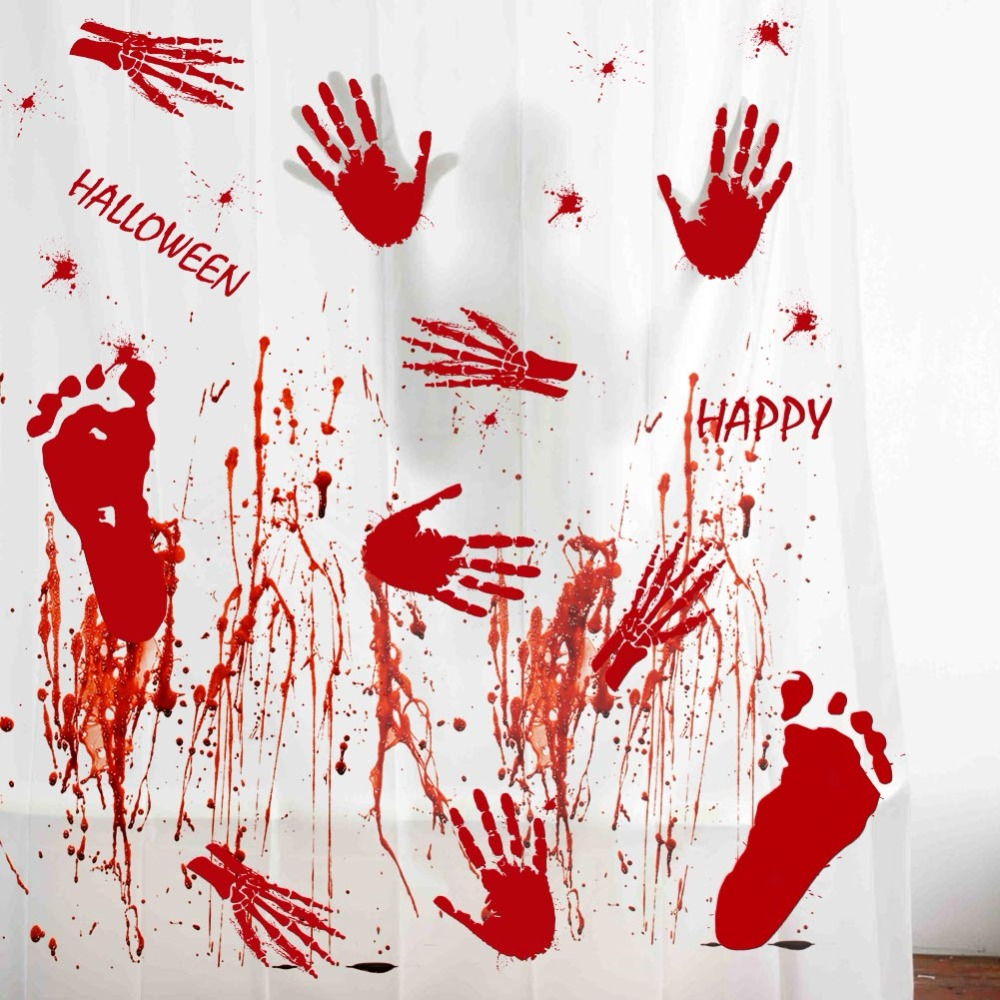 OurWarm Halloween Decorations for Home Halloween Party Set Horror ...