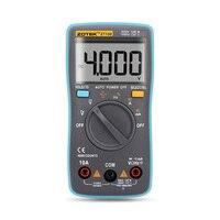 Dijital Multimetre LCD 4000 Sayımları Akım Gerilim Direnç Kapasite Tester perakende kutusu Ile ZT100 Oto Aralığı Ampermetre