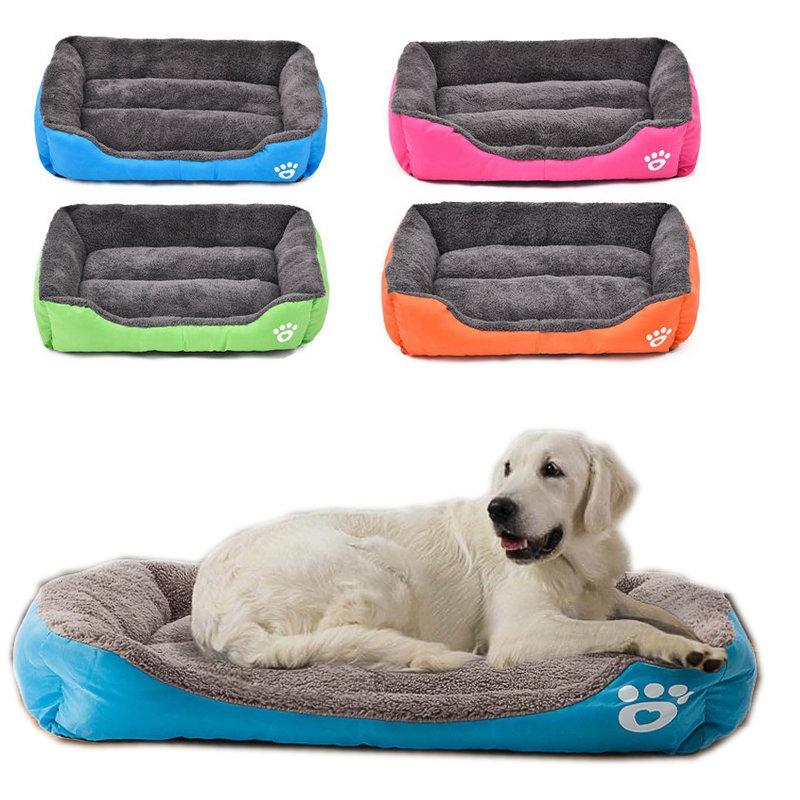 كلب سرير الشتاء الدافئة مبطن جرو القط أريكة بيت الكلب أحجام مختلفة 5 ألوان كاما غاتو عش الحيوانات الأليفة الكلب السرير mascotas غاتو
