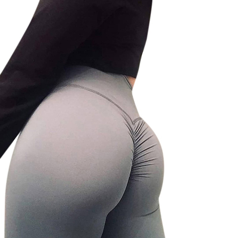Women Leggings High Quality Polyester High Waist Push Up Elastic Workout Fitness Sexy Pants Bodybuilding Casual Legging Clothing
