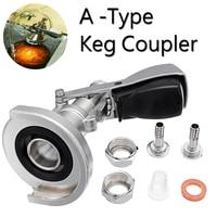 A type Keg Coupler Draft Beer Dispenser For Home Brew Connectors Coupler Head For Home brew Wine Beer Dispenser