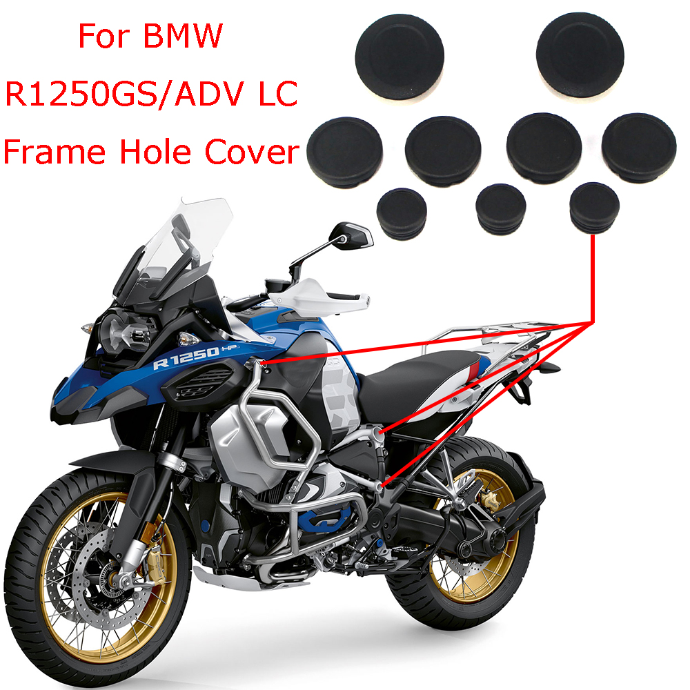 For BMW R1250GS LC R1250 GS Adventure 2019 All New Motorcycle Frame Hole Cover Caps Plug