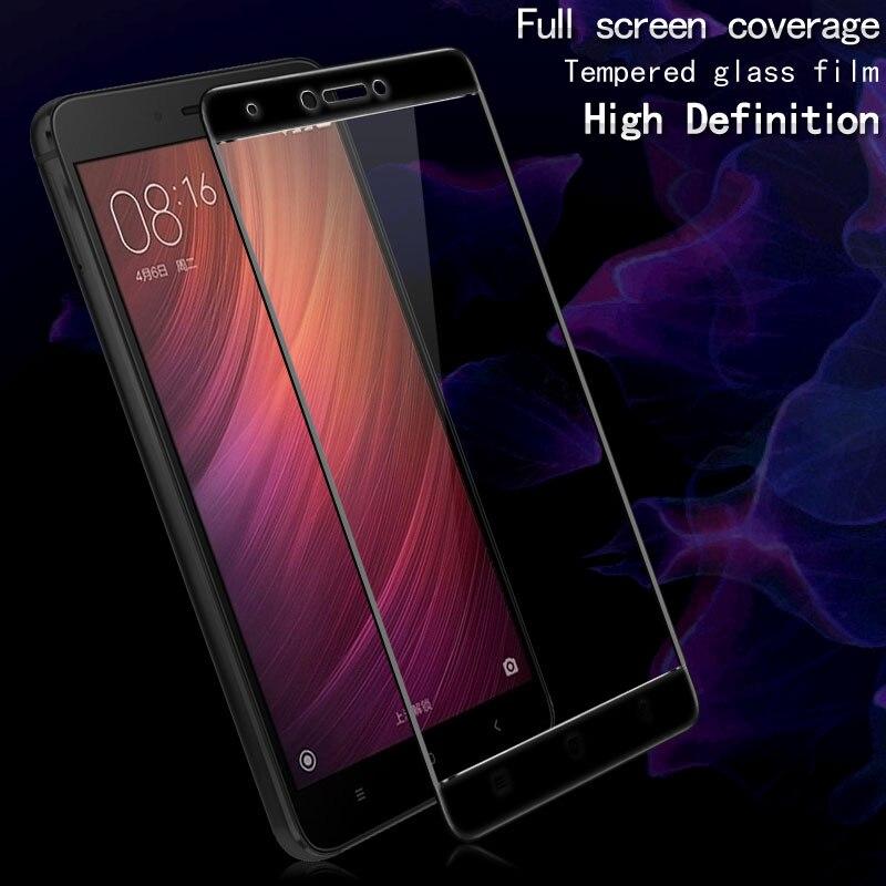 Цена за 10 шт./лот Оптовая IMAK 3D Полное Покрытие Экрана 9 H Закаленное Стекло Пленка Для Xiaomi Redmi Note 4X Полный Протектор Экрана Телефона