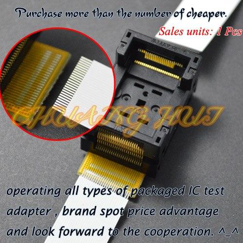 IC Detect IC354-0482-031 Socket TSOP48 To TSOP48 Test Socket Pitch=0.5mm