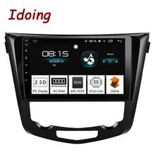 "Idoing 10.2 ""2.5D Car Android 8.0 Radio Multimedia Player Fit Nissan X-Trail Qashqai 2014-2017 4G + 64G Octa Core di Navigazione GPS"