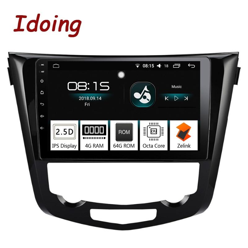 Je fais 10.2 2.5D Voiture Android 8.0 Radio lecteur Multimédia Fit Nissan X-trail Qashqai 2014-2017 4G + 64G Octa Core navigation gps