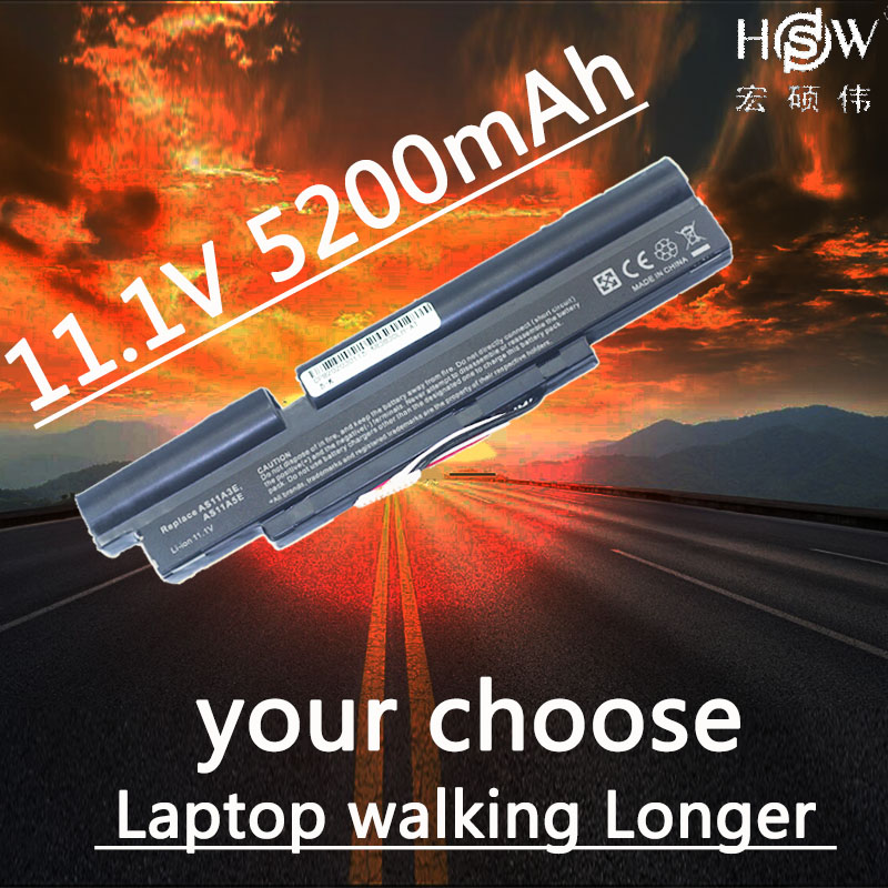 HSW Laptop Battery For Acer 3INR18/65-2 AS11A3E AS11A5E Aspire TimelineX 3830T 4830T <font><b>4830TG</b></font> 5830T 5830TG ID57H 6cells image