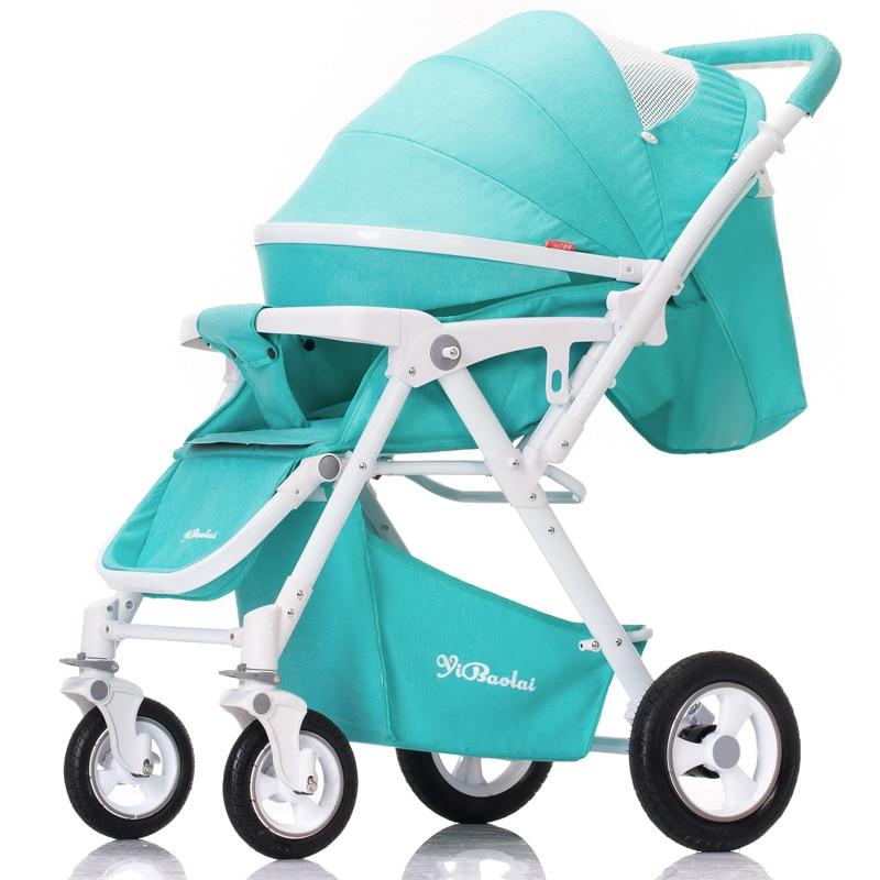 цена на YBL stroller walking delivery free lightweight bidirectional high-quality shock absorber foldable 5 colors