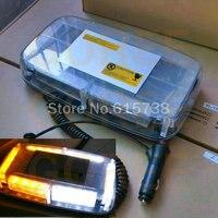 Car Roof Flashing lamp Strobe Light Bar Emergency Beacon Alarm Roof Light 24 LED DC 12V Strobe Lightbar