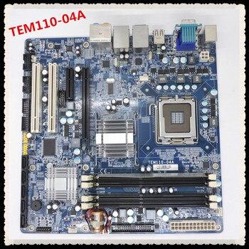 TEM110-BAT(TIH) TEM110-04A industrial motherboard tested working