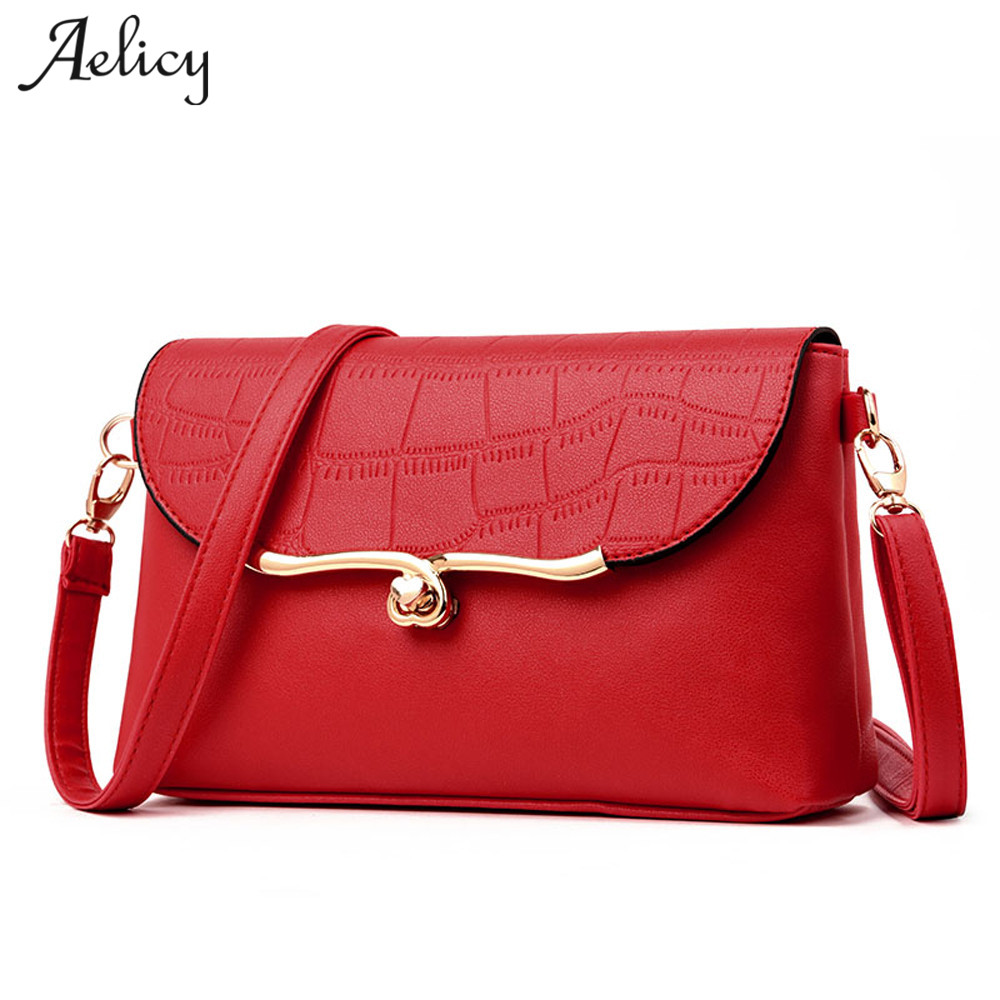 Aelicy Stone Pattern Luxury handbags women bags designer women messenger bags Summer bag woman bags for women 2018