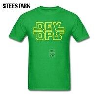 Personal Tailor T Shirt Fun Tee Shirts DevOps Star Wars Style Teenage Pre Cotton Short Sleeve