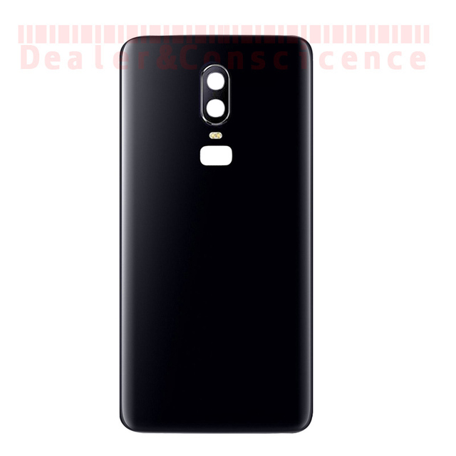new styles 5e570 737be US $47.0 |10PCS (Checked One by One) For Oneplus 6 One Plus 6 Back Battery  Cover Rear Door Glass Housing Case Replacement Part+Camera Lens-in Mobile  ...