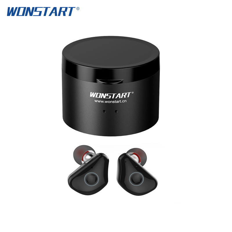 Wonstart TWS Wireless Earphones Mini Bluetooth Earphone IPX6 Waterproof fone de ouvido sem fio Touch Control with Charging Case