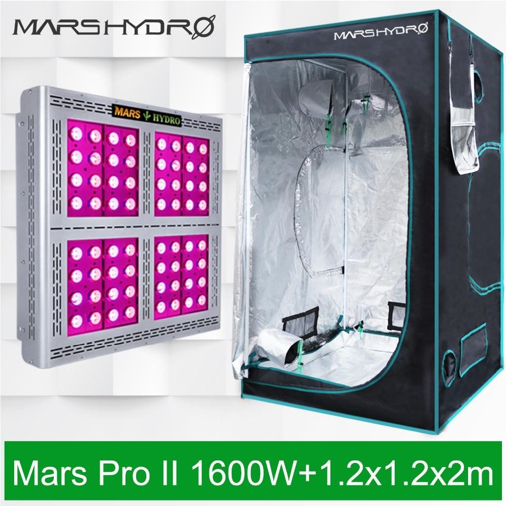 Mars Pro II 1600W LED Grow Light full spectrum Veg Flower Hydro+ ...