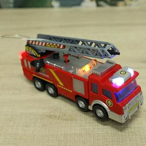 Image 4 - New Style Water Spray Fire Engine Car Toy Electric Fire Truck Children Educational Vehicle Toy for Boy High Quality Gifts
