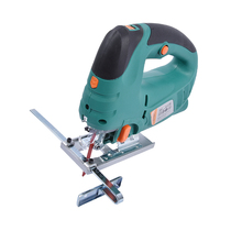 JS100C Electric Curve Saw Multi function Mini Home Laser Curve Saws Woodworking Tools Laser Chainsaw 220v