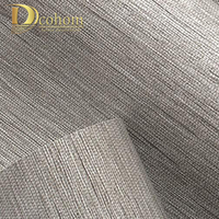 Modern Classic Solid Color Texture Wood Paper Straw 3d Wallpaper Living Room Embossed Decorative Wall Paper