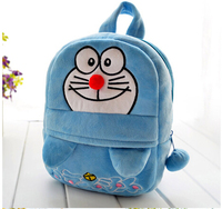 2015 New Coming Cute 1pcs 10 25cm Little Cartoon Doraemon Tinker Bell Plush Backpacks School Bag