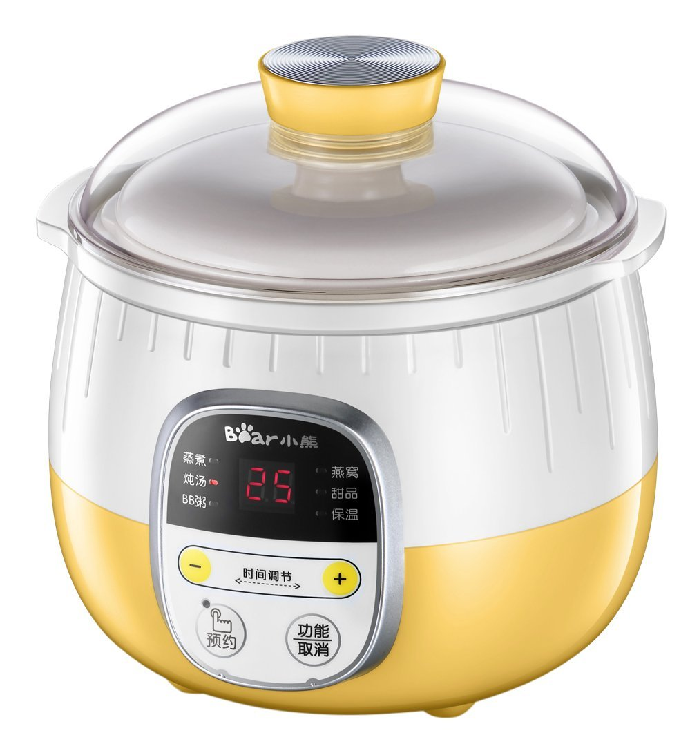 Bear Electric Slow Cookers Stew Pot Soup Porridge Cooker DDZ-B08C1 cukyi household 3 0l electric multifunctional cooker microcomputer stew soup timing ceramic porridge pot 500w black