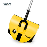 Fmart Electric Broom 2 In 1 Swivel Cordless Cleaner Drag Sweeping Aspirator Household Cleaning Wireless Cleaner