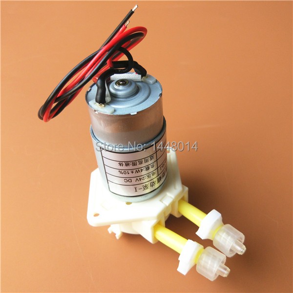 2pcs Allwin xenons Fortune lit inkjet printer peristaltic pump jyy ink pump solvent based liquid pump