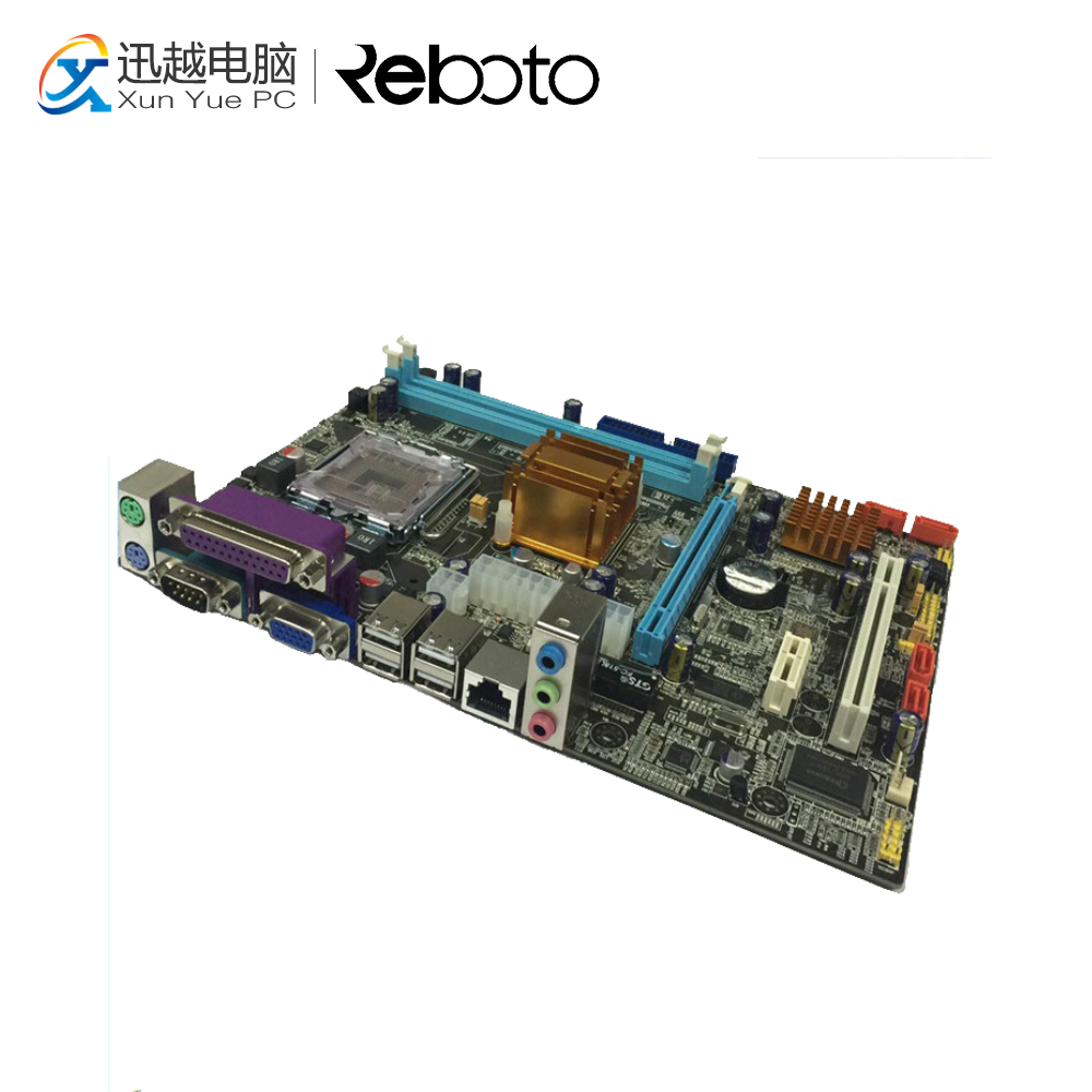 цена 100% OEM New G41 Desktop Motherboard G41 LGA 775 DDR3 8G For i3 i5 i7 All-Solid Micro-ATX On Sale