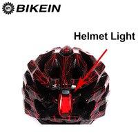 BIKEIN  lámpara de bicicleta de montaña para montar por la noche  3 LED  casco de seguridad  luz Flash  tija de sillín  luz trasera  CR2032  accesorios de bicicleta de ciclismo|bicycle accessories|bike night|led safety -