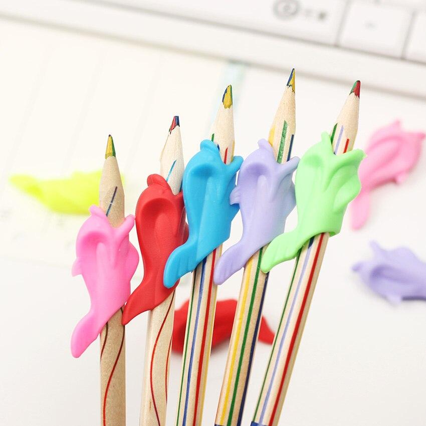 Шт. 20 шт. обучения партнер дети учебная Канцелярия карандаш проведения практика устройства для исправления ручка Postures Grip