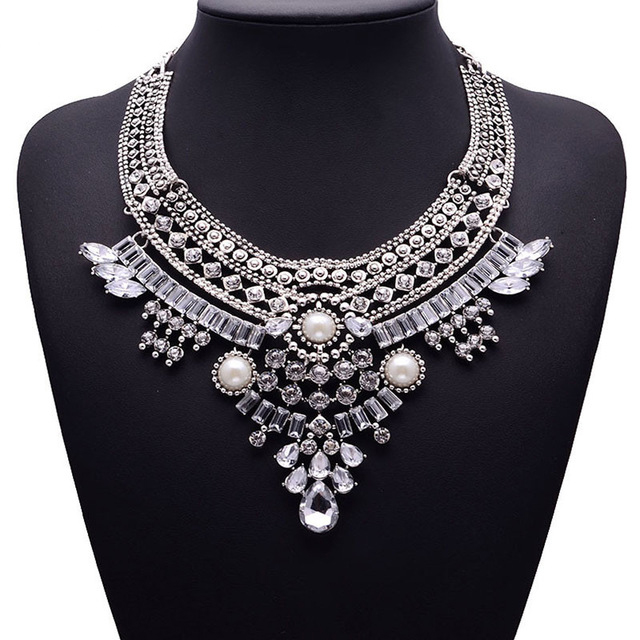 HTB1yToJaODxK1RjSsphq6zHrpXan - Miwens Collar Za Necklaces Pendants Vintage Crystal Maxi Choker Statement Silver Color Collier Necklace Boho Women Jewelry