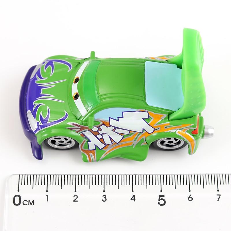 Disney Pixar машина 3 Молния Маккуин гоночный семейный 39 Джексон шторм Рамирез 1:55 литой металлический сплав детская Игрушечная машина