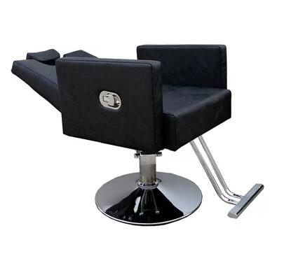 New Factory Direct Beauty Salon Chair Barber Shop Shave Shave Salon Can Be Inverted After The Recliner 605.