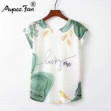 Summer Autumn Women T-Shirts for Girls Harajuku Kawaii Cute Style Bird Print Loo