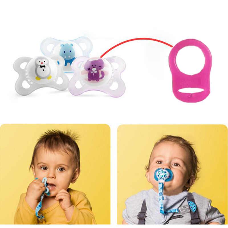 1 pcs bebê chupeta chupeta titular adaptador anéis silicone mam chupeta clipes adido sucette nuk mamilo chupeta chupeta para bebe