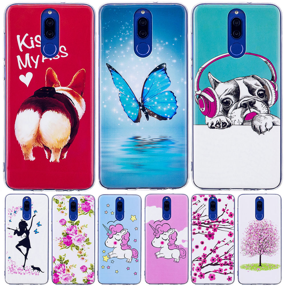 Half-wrapped Case Dneialcc For Huawei Honor 10 5.84 Case Dynamic Liquid Glitter Quicksand 3d Soft Tpu Lovely Back Cover For Huawei Honor 10