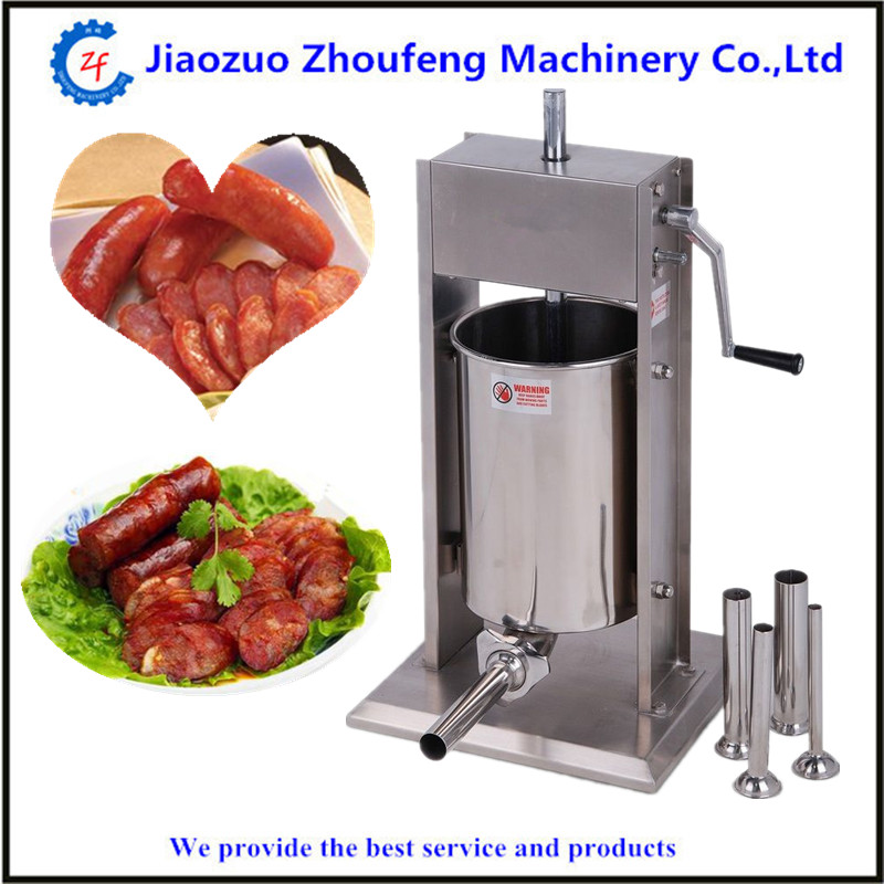 Hand operated sausage meat stuffer homemade sausages filling machine manual salami maker zonesun manual sausage meat fillers machine food maker hand operated sausage machines for sausage meat poultry