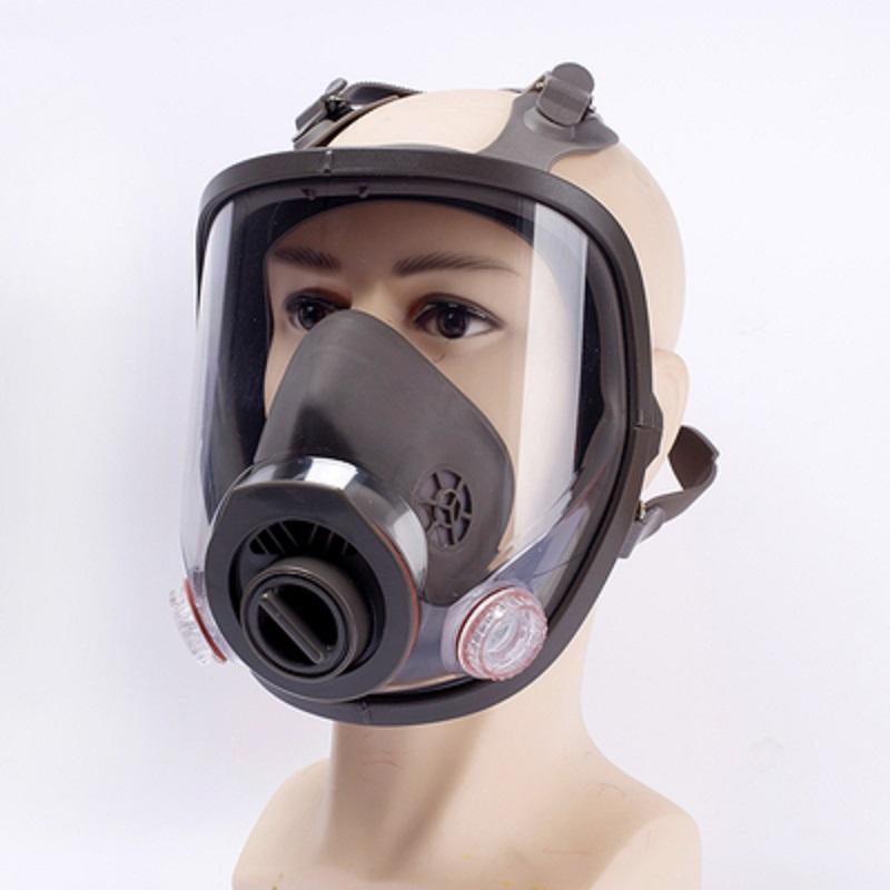 6800 Full Face-piece Gas Mask Respirator 3M filters 6001 2091 Chemical Industrial Protective Spraying Paint Weld Lab Dust-proof
