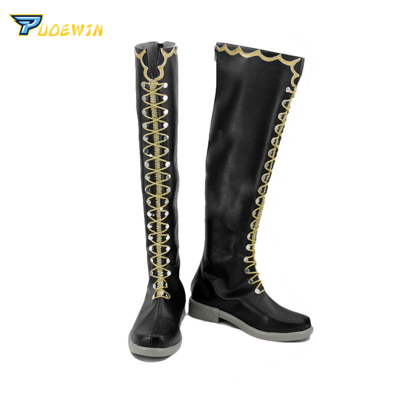 BanG Dream  Minato Yukina Cosplay Carnaval Shoes Boots Halloween Christmas Shoes