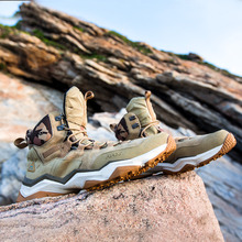 RAX Men and Women Waterproof Leather Hiking Shoes