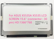 "For ASUS X553SA X553S LCD SCREEN 15.6"" (connector : 30 pin) HD:1366*768"