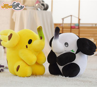 Stuffed Animal Banana elephants Plush toys Panda elephant Plush Animals Kids Present Toys Children Baby Birthday Gift