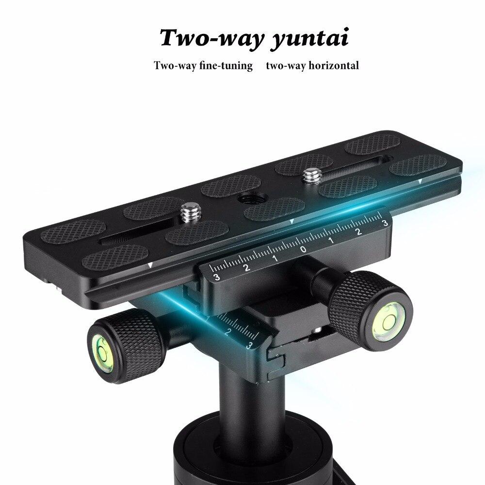 Nuevo mini estabilizador de cámara de vídeo portátil dslr para videocámaras profesionales, SLR, cámaras DSLR y DVs, etc. - 3