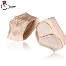 Professional Ballet Flats Dance Socks Women Belly DanceFoot thong  Shoe Toe Pads Nude Silicone Insole