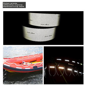 5cmx5m Self-adhesive Solas Grade Marine Reflective Tape for Life-Saving Products