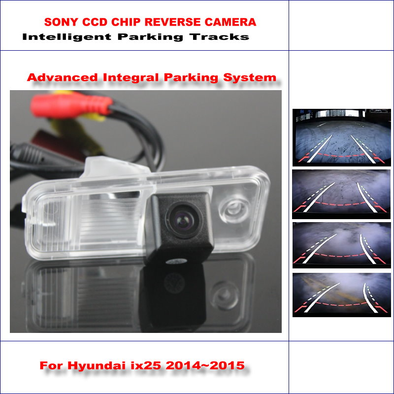 Intelligentized Telecamera di Retromarcia Per Hyundai ix25/Hyundai Creta Rear View Back Up/580 Linee TV Guida Dinamica Tracce