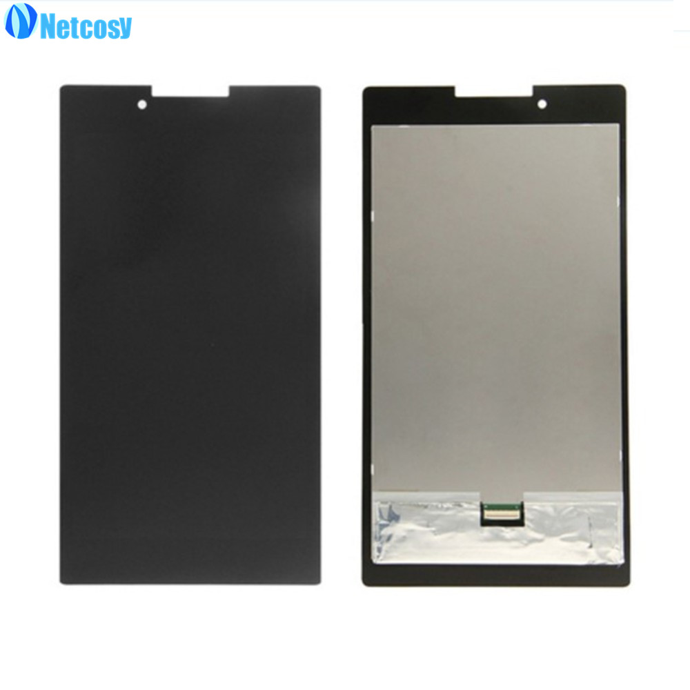 Netcosy Full screen For Lenovo Tab 2 A7 A7-30 Black LCD Display Touch Screen Assembly For Lenovo A7-30 7inch LCD screen new black full lcd display