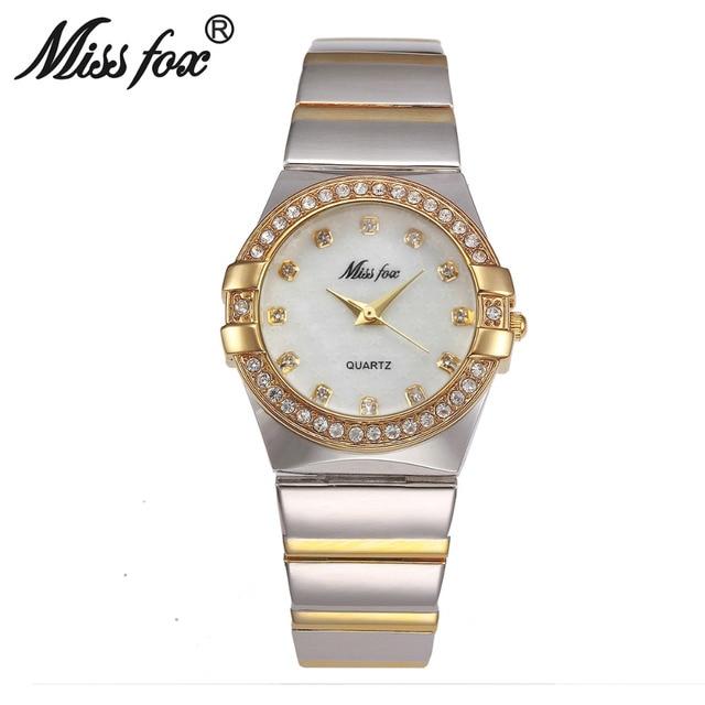 New Style Top Quality Luxury Watches Silver Gold Women Rhinestone Crystal Quartz Watches Lady Bracelate Dress Wristwatches